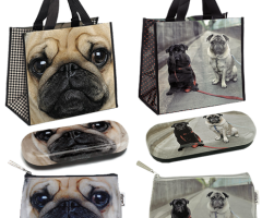 Catseye London Pug Bags