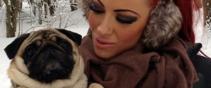 Jodie Marsh – Celebrity Pug Mum