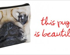 Catseye Pug Cosmetics Bag – Product highlight