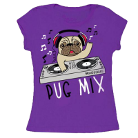 PUG MIX CHILD'S T SHIRT- SALE