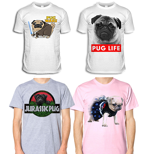 Pug Clothing & Pug T Shirts