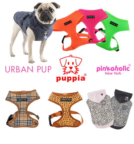 Puppia Soft dog Harnesses