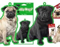 Pug products for your car or home…