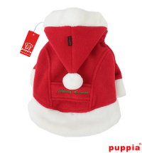 PUPPIA SANTA COAT FLEECE