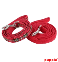 PUPPIA SANTA LEASH – SANTA OR TARTAN STYLE