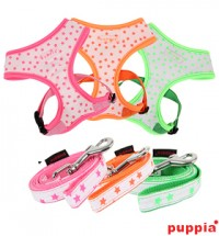 PUPPIA COSMIC SOFT HARNESS & LEAD COMBO