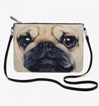 Pug Cross Body Bag
