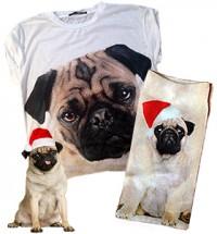 Ladies Pug T Shirt & Christmas Socks Offer