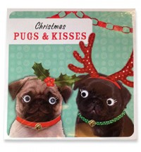 Christmas Pugs & Kisses Card