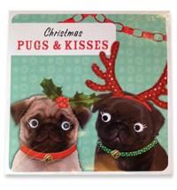 Christmas Pugs & Kisses Card