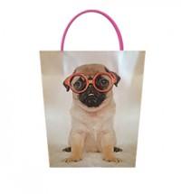 Pug in glasses Gift Bag