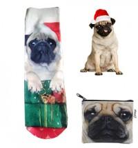 Christmas Pug Socks Offer