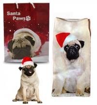 Christmas Pug socks & Gift Bag Offer