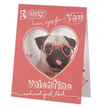 Valentines Card – I only have eyes for you