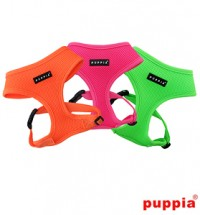 PUPPIA NEON SOFT HARNESS