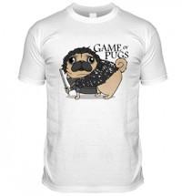Game Of Thrones Pug T Shirt (Adult Unisex)