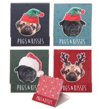 Christmas Pug Matchbook Nail Files – SALE!