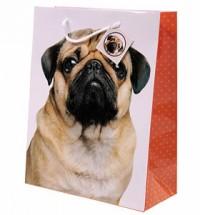 Fawn Pug Gift Bag
