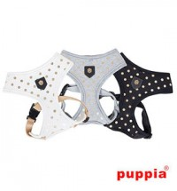 PUPPIA MODERN DOTTY SOFT HARNESS