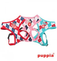 PUPPIA ARGYLE SOFT HARNESS