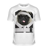 Barbarian Pug Rugby T-Shirt (Adult Unisex)