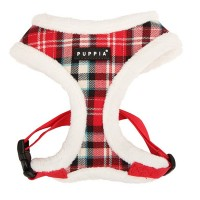 PUPPIA RED UPTOWN HARNESS