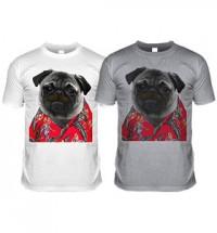 Magnum Pug Tash T-Shirt (Adult Unisex)