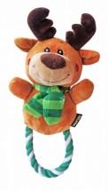 Reindeer Rope Christmas Tug Toy