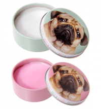 Strawberry & Vanilla Pug Lip Balms