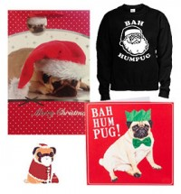 Bah Hum Pug  Christmas Special Offer