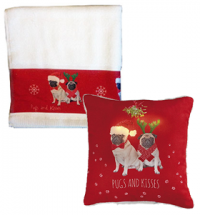 Pug Lovers Christmas Set