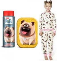 Girls Pug Christmas Gift Set