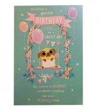 Pug Special Birthday Card