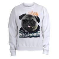 Pug Mistletoe Christmas Sweater
