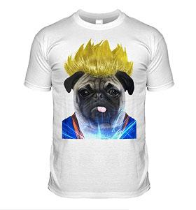 Pug Dragon T-Shirt  (Adult Unisex)