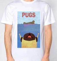 Pug Jaws Unisex T-Shirt