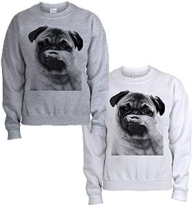 Pug Tash Unisex Sweater