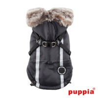 Puppia Clark Coat Black Size XL -SALE £45.99 FROM £55.99