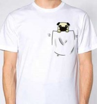 Pocket Pug Unisex T-Shirt