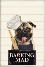 Barking Mad Pug Tea Towel