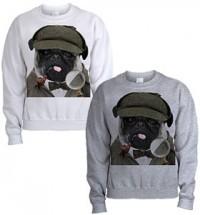 Sherlock Pug Unisex Sweater