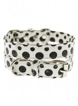 Urban Pup Black & White Polka Dot Collar