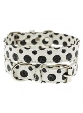 Urban Pup Black & White Polka Dot Collar