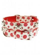 Urban Pup Red & White Polka Dot Collar