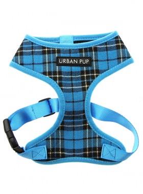 Urban Pup Blue Tartan Harness