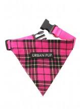 Urban Pup Pink Tartan Bandana