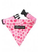 Urban Pup Pink Hearts Bandana