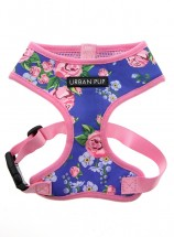 Urban Pup Floral Burst Blue Harness