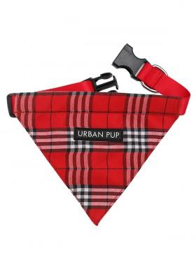 Urban Pup Red Tartan Bandana