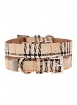 Urban Pup Beige Tartan Collar
